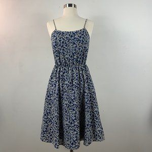 NWOT - J. Crew Blue Floral Sun Dress